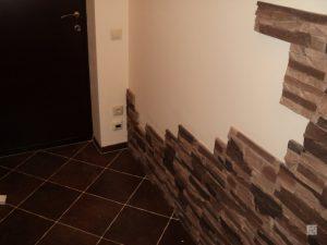 цементный камень в стилистике проходной комнате картинка