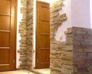 цементный камень в стилистике проходной фото