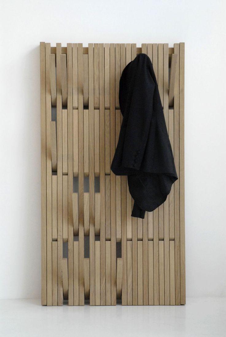 стильная вешалка в прихожую комнату интерьер