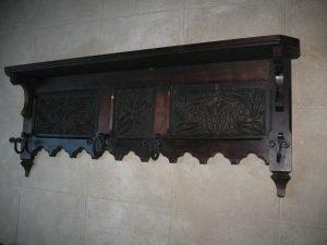 железная вешалка для прихожей комнаты дизайн фото