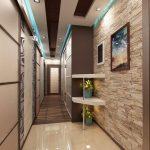 дизайн интерьера прихожей в доме в светлых тонах фото