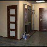 дизайн прихожей комнаты в квартире в ярких тонах картинка