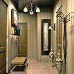 дизайн прихожей комнаты в квартире в ярких тонах фото