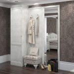 интерьер прихожей в квартире в светлых тонах фото