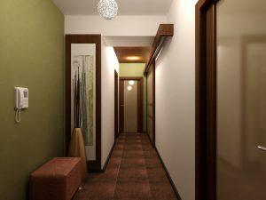 интерьер проходной в стиле минимализм фото