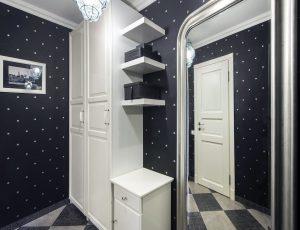 стиль прихожей комнаты в стиле хай тек картинка