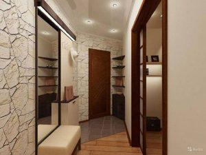 дизайн прихожей комнаты в стиле классика картинка