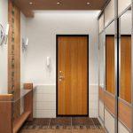 интерьер прихожей комнаты в стиле эко картинка