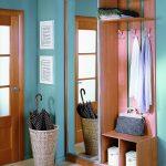 яркая маленькая прихожая комната стиль картинка