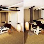 красивая прихожая комната дизайн фото