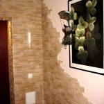 цементный камень в оформлении проходной картинка