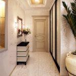 дизайн интерьера прихожей комнаты в доме в светлых тонах фото