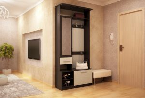 дизайн прихожей комнаты в стиле эко фото
