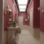 дизайн прихожей комнаты в стиле хай тек фото