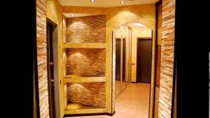 интерьер проходной комнаты в стиле эко картинка