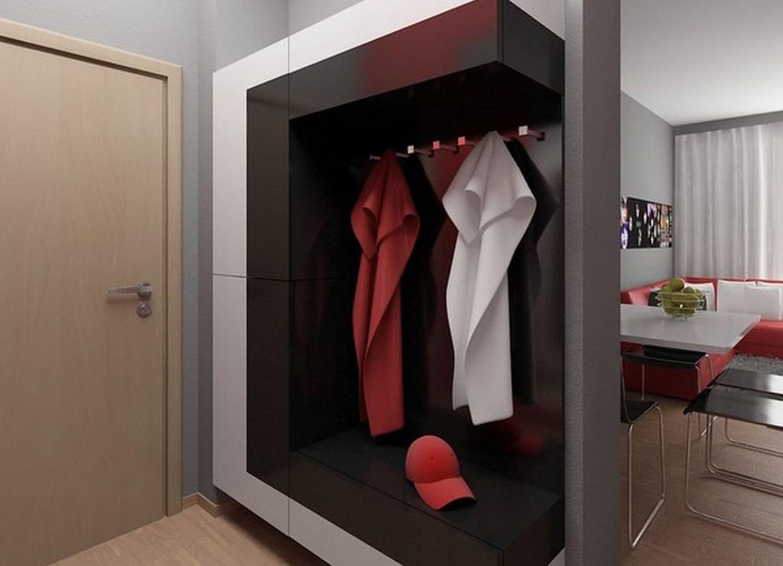 дизайн прихожей комнаты в стиле скандинавия