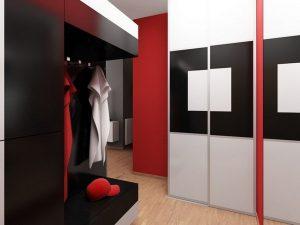 стильная прихожая комната стиль фото