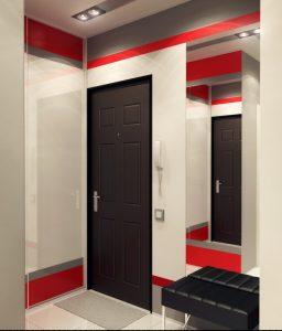 дизайнерская прихожая комната интерьер картинка