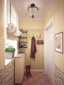 красивая маленькая прихожая комната интерьер фото