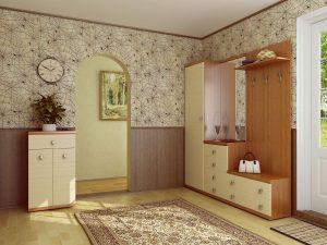 влагоустойчивые обои в прихожую комнату с раскраской дизайн