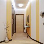 интерьер прихожей комнаты в квартире в ярких тонах картинка