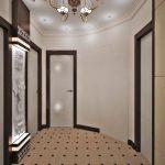 дизайн интерьера прихожей в квартире в светлых тонах картинка