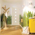 интерьер прихожей в доме в светлых тонах фото