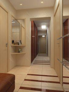дизайн прихожей комнаты в стиле скандинавия картинка