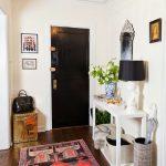 интерьер прихожей комнаты в стиле хай тек фото