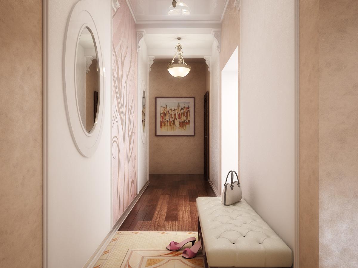 дизайн прихожей комнаты в стиле япония
