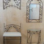 деревянная вешалка в прихожую пример дизайна