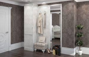 красивая прихожая комната интерьер картинка