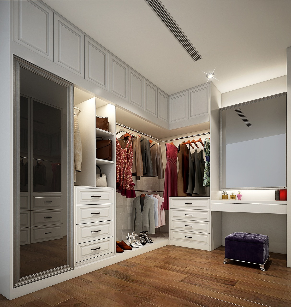 дизайнерская прихожая комната интерьер