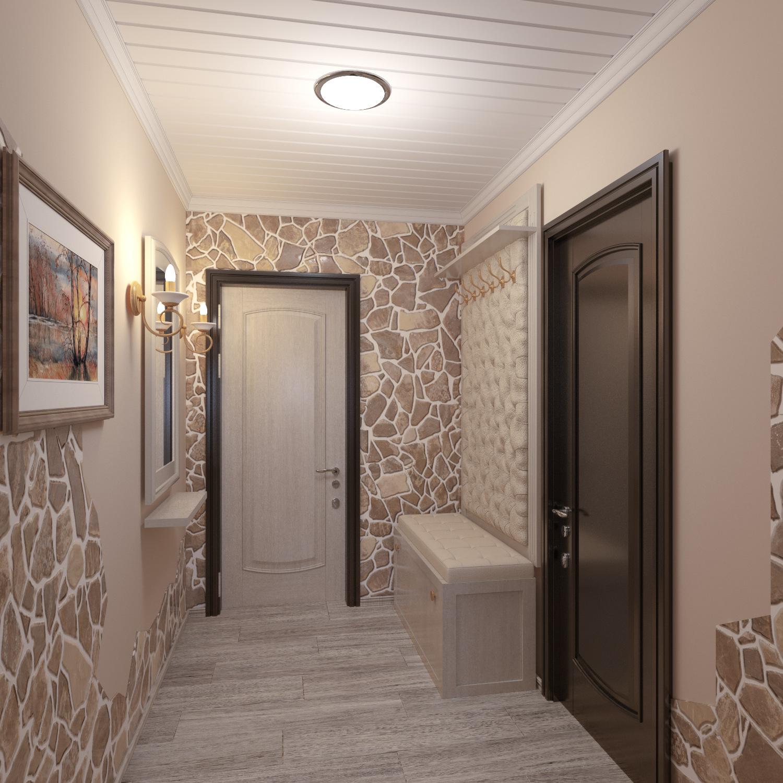 большая коридор в частном доме