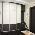 небольшой шкаф купе в прихожую комнату дизайн
