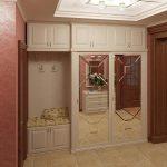 дизайнерская коридор в классическом стиле картинка