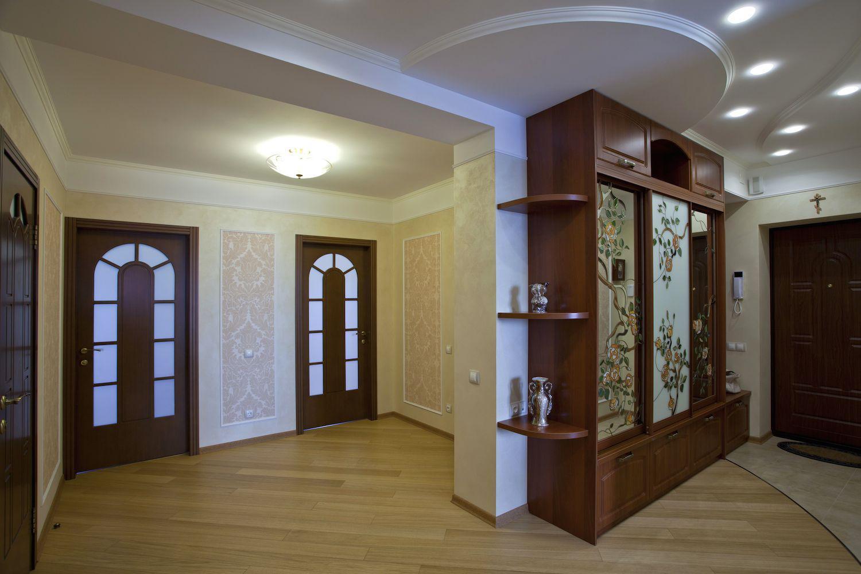 дизайнерская коридор в классическом стиле дизайн