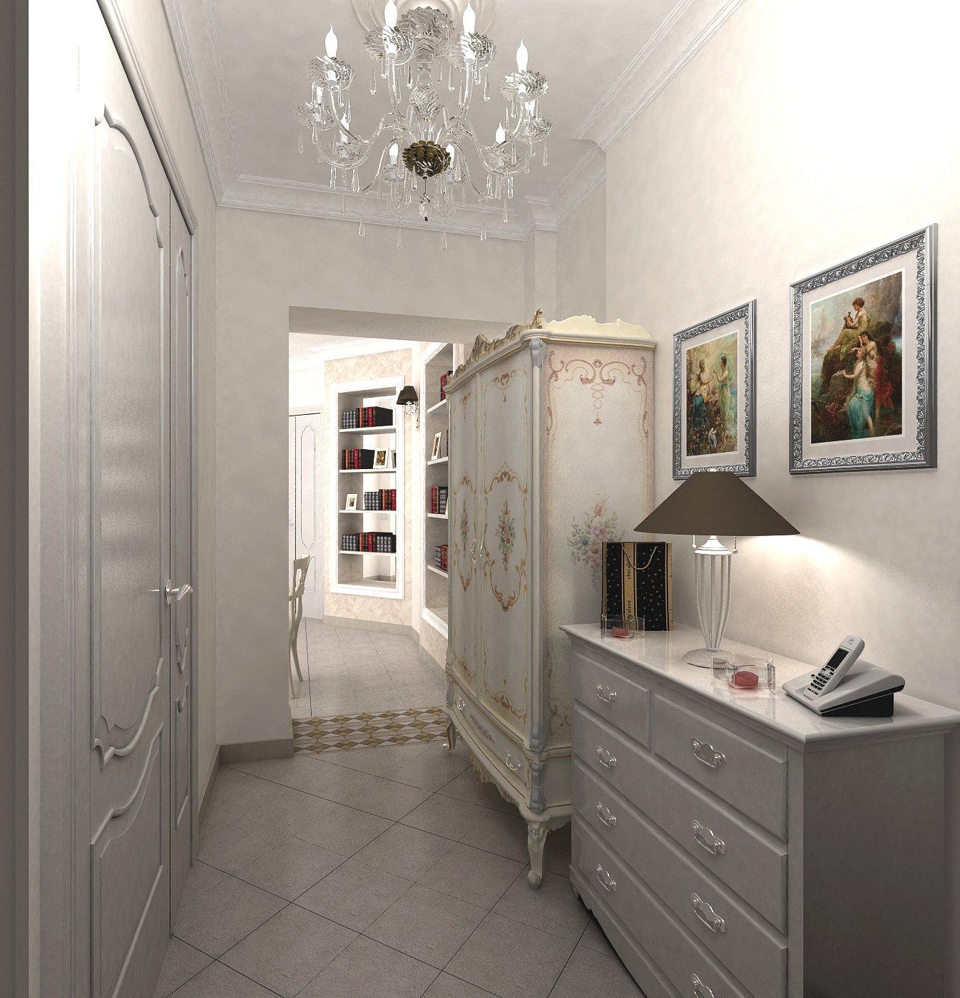 красивая коридор прованс