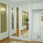 красивая прихожая комната в классическом стиле фото