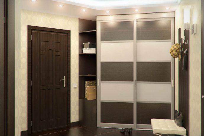 яркий дизайн коридора с маленьким коридором фото