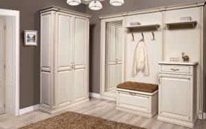 красивая прихожая комната в классическом стиле стиль картинка