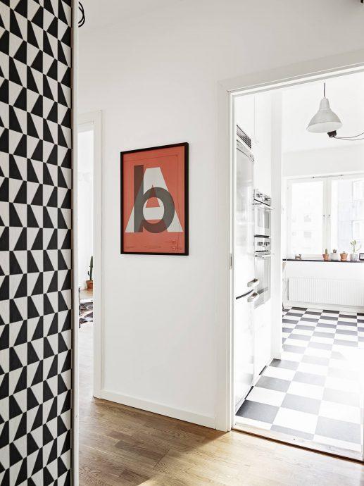 шикарная проходная комната в скандинавском дизайне картинка