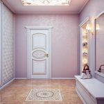 яркая коридор в частном доме фото