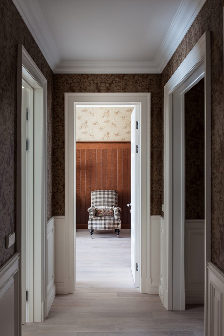 Г образный коридор дизайн в квартире