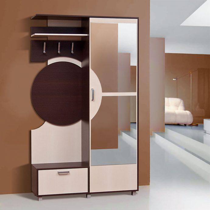 необычный стиль проходной комнаты эконом класса картинка