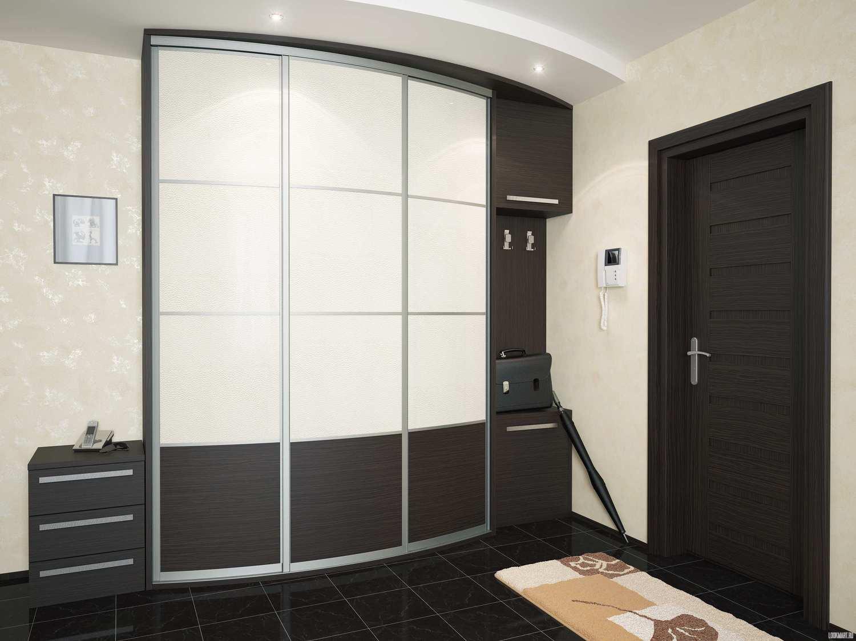 необычный дизайн проходной комнаты эконом класса