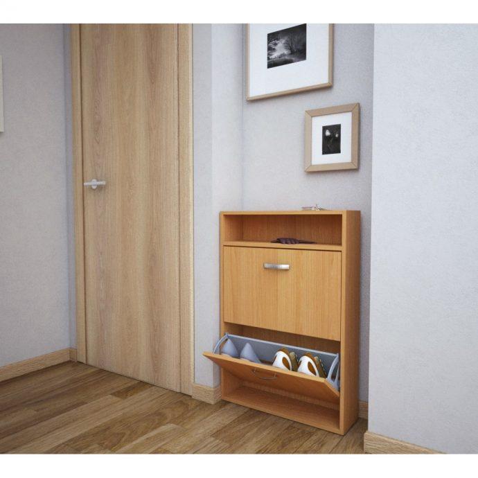 небольшая шкафчик для обуви из мдф в прихожую интерьер