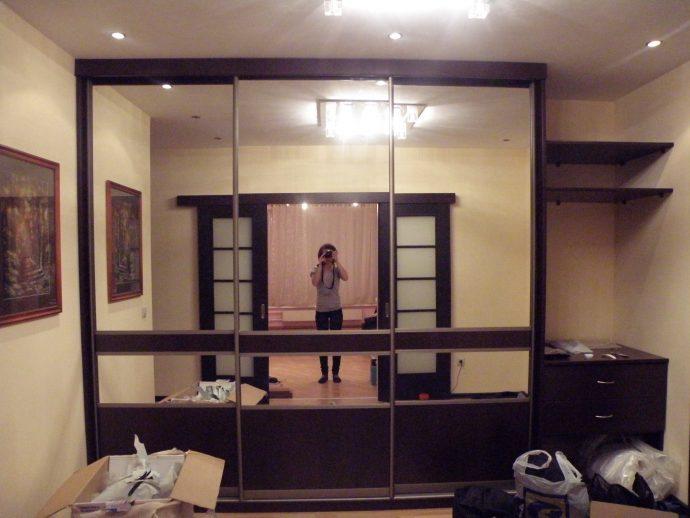 узкий шкаф в прихожую дизайн
