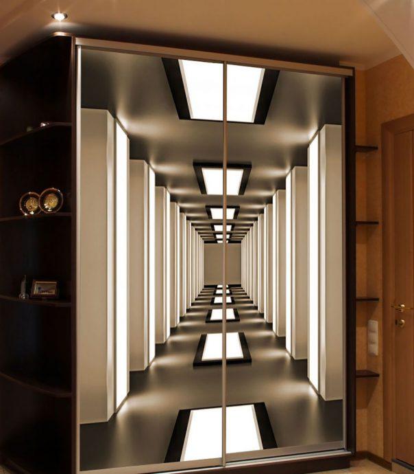 небольшой шкаф в прихожую комнату стиль