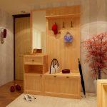 светлый дизайн проходной комнаты фото